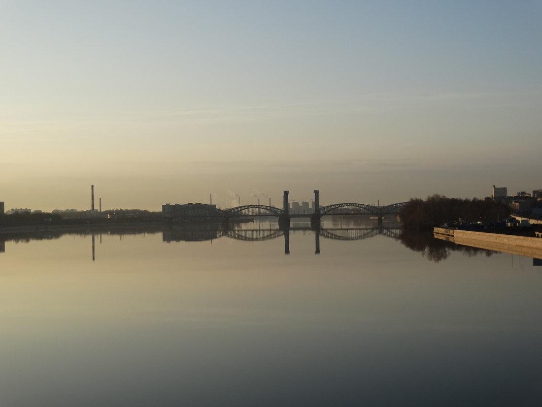 Санкт-Петербург ,Финляндский железнодорожный мост - Татьяна Сапрыкина