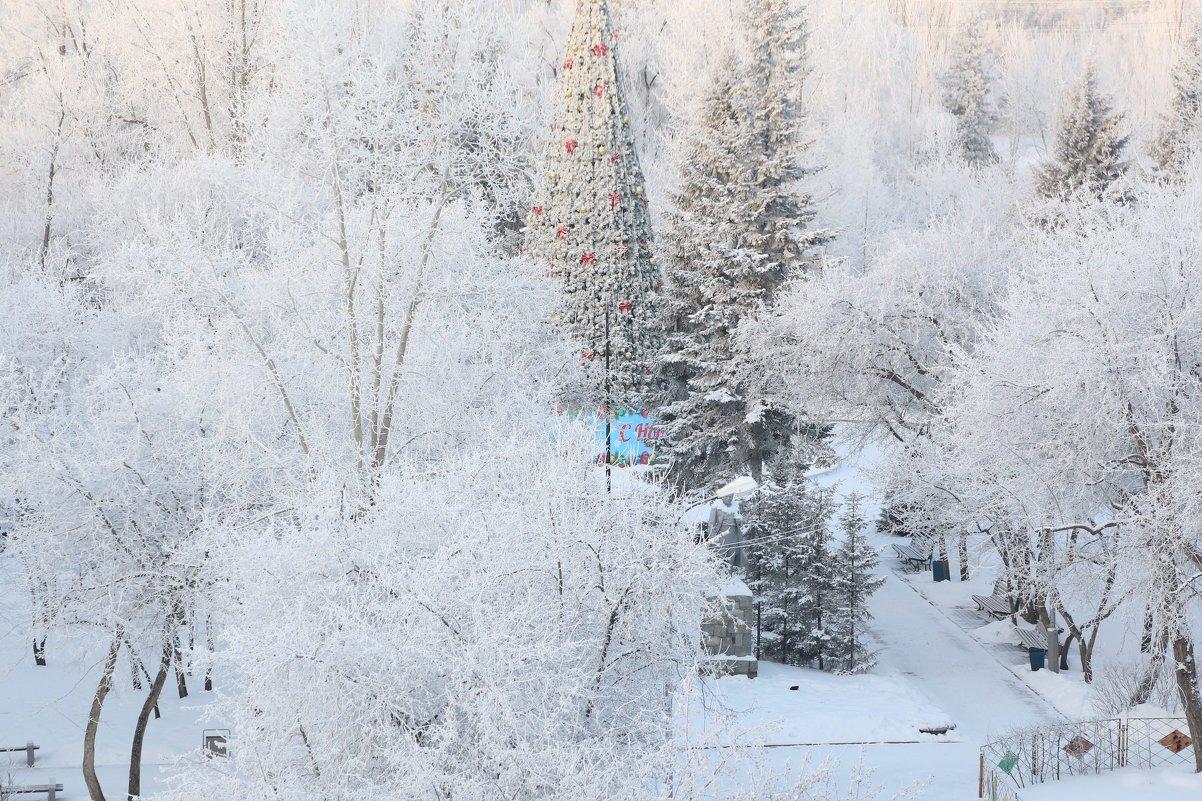 Вид из окна студии - ДмитрийМ Меньшиков