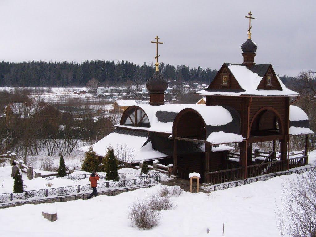Купальня, источник преподобного Саввы - Анна Воробьева