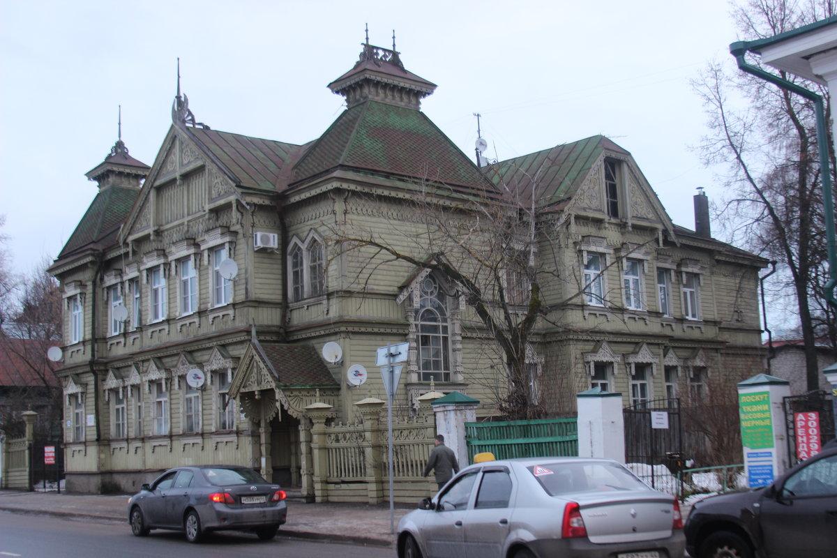 Кострома. Дом В.Ф. Стожарова - Дмитрий Солоненко