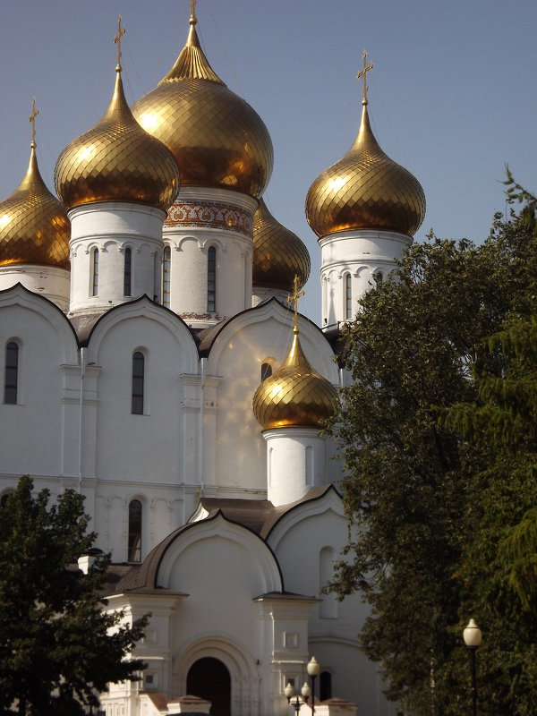 Успенский собор в г.Ярославле. - Нина Андронова