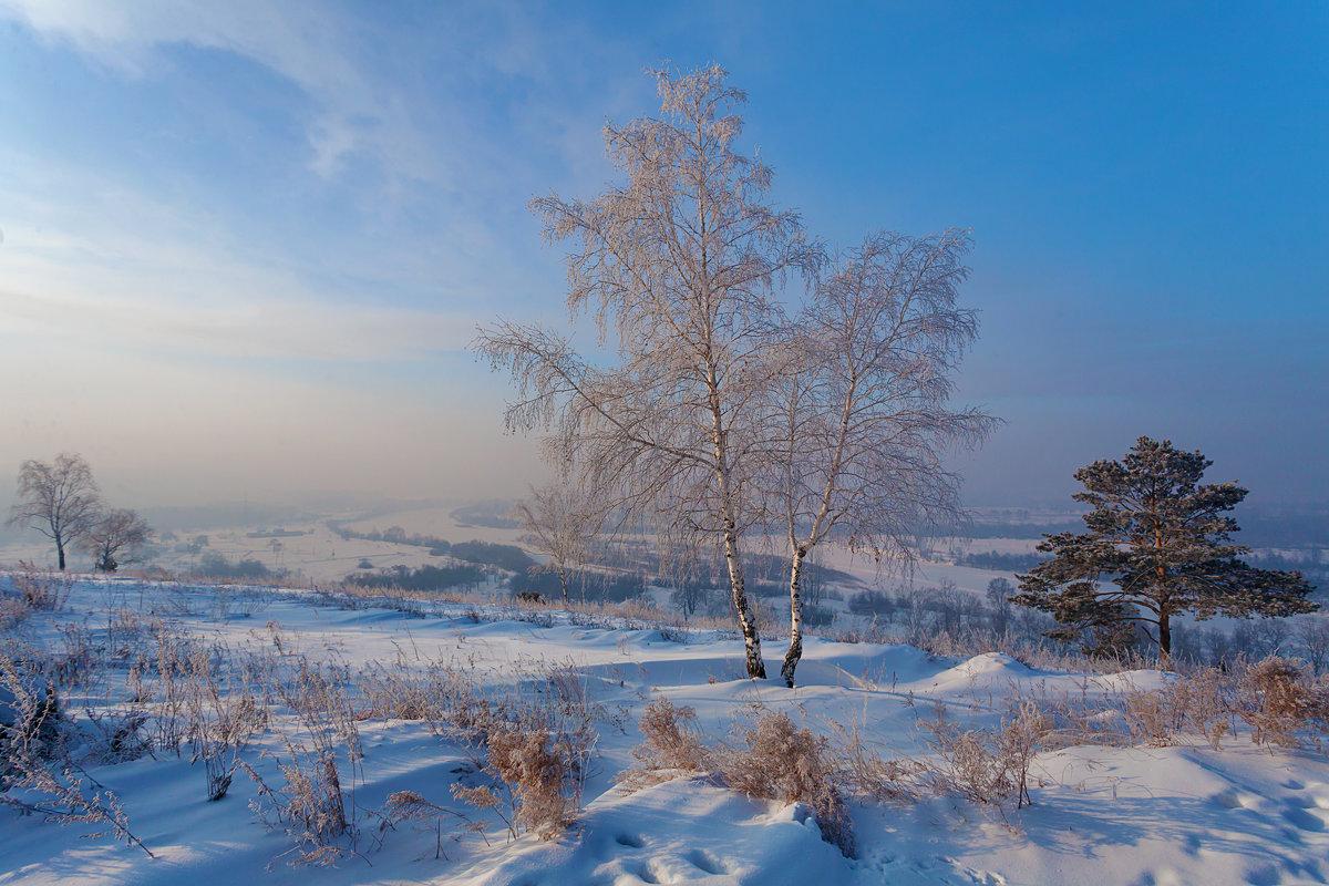 Виды природы. Зимняя долина - Анатолий Иргл