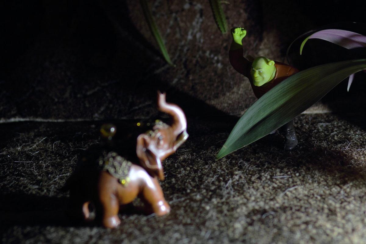 Шрек в джунглях 2 - Юрий Гайворонский