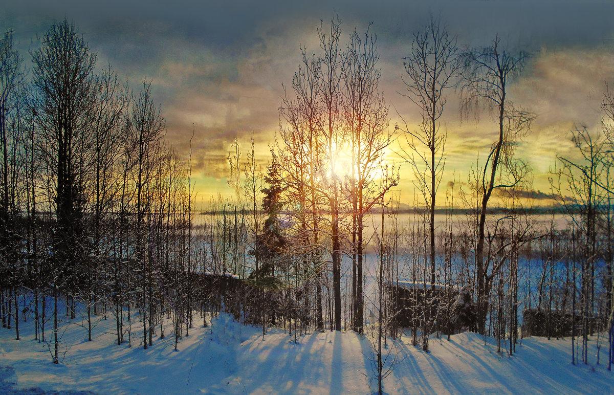 Закат над Двиной - Виктор Заморков