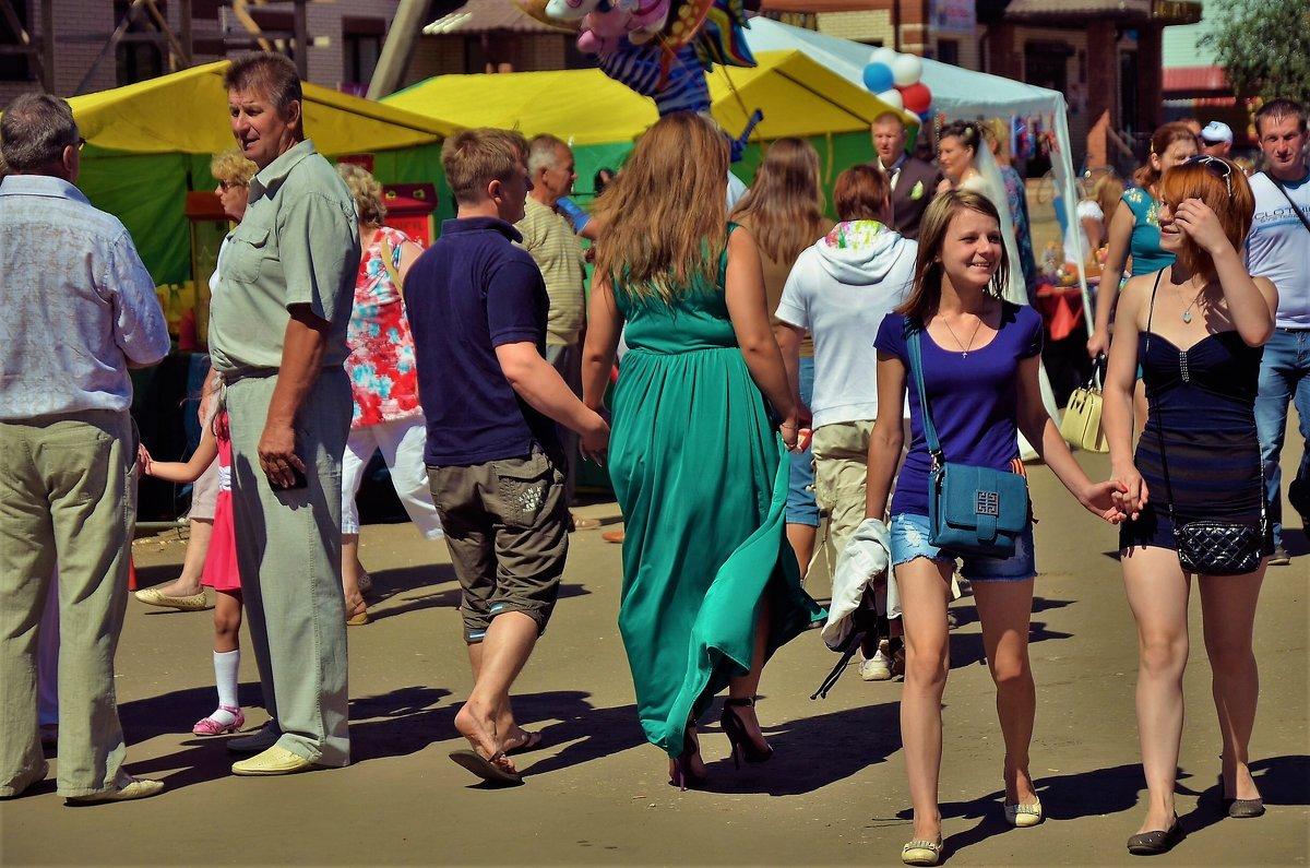 В праздничной толпе... - Sergey Gordoff