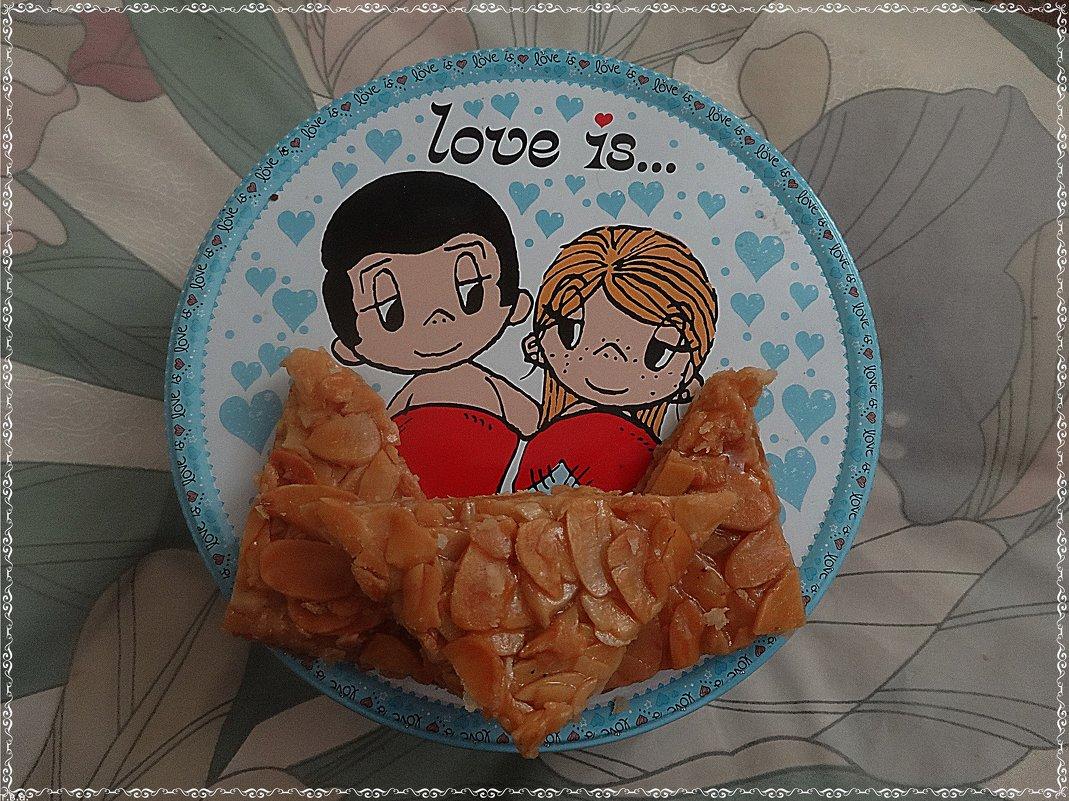 Печенье эмирское с миндалем - Вера