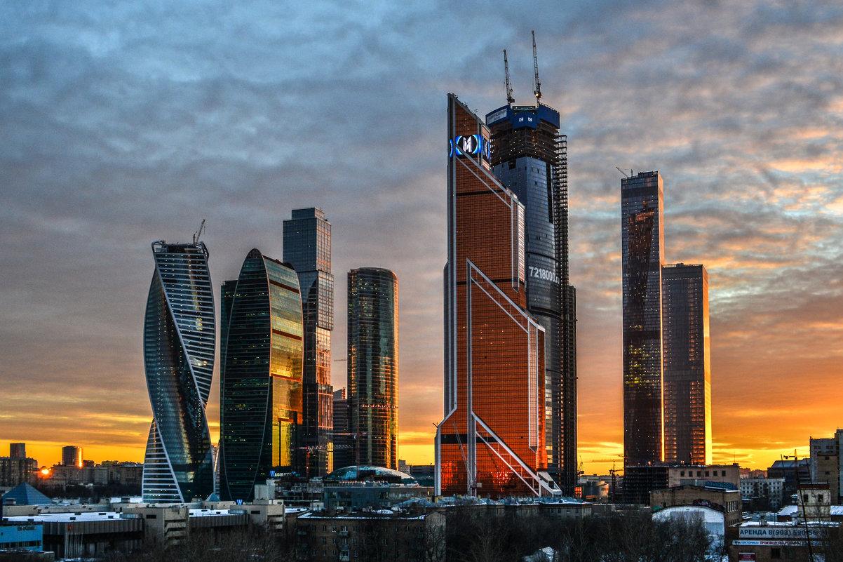 закат на Москва Сити - Георгий