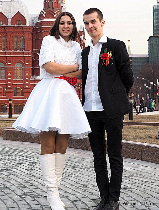 """жених и невеста """"ти-ли-ти-ли тесто"""" - Олег Лукьянов"""