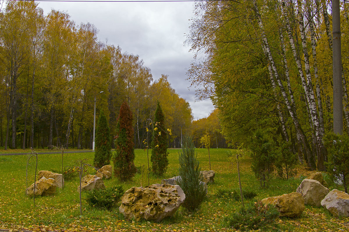 Осенний парк. - Инна Щелокова