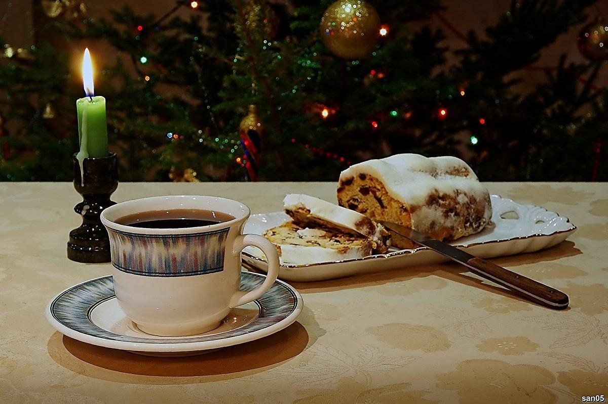 Чай с рождественским кексом - san05 -  Александр Савицкий