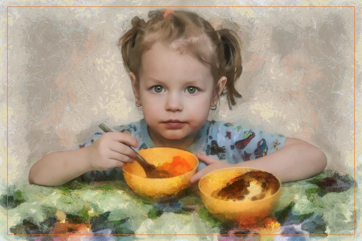 Портрет внучки... - Алексей Лебедев