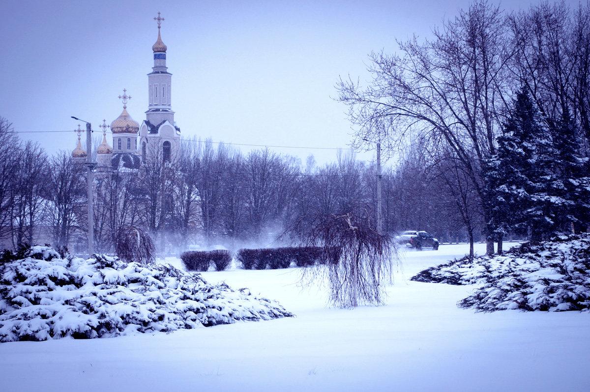 В природе всё перевернулось, Весной опять зима вернулась... - Людмила