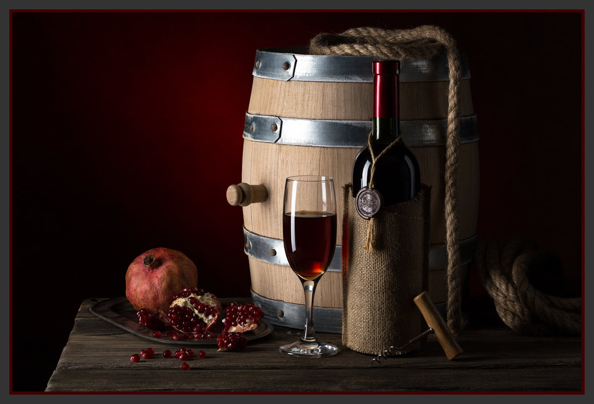 Гранатовое вино 2. - Борис Ряузов
