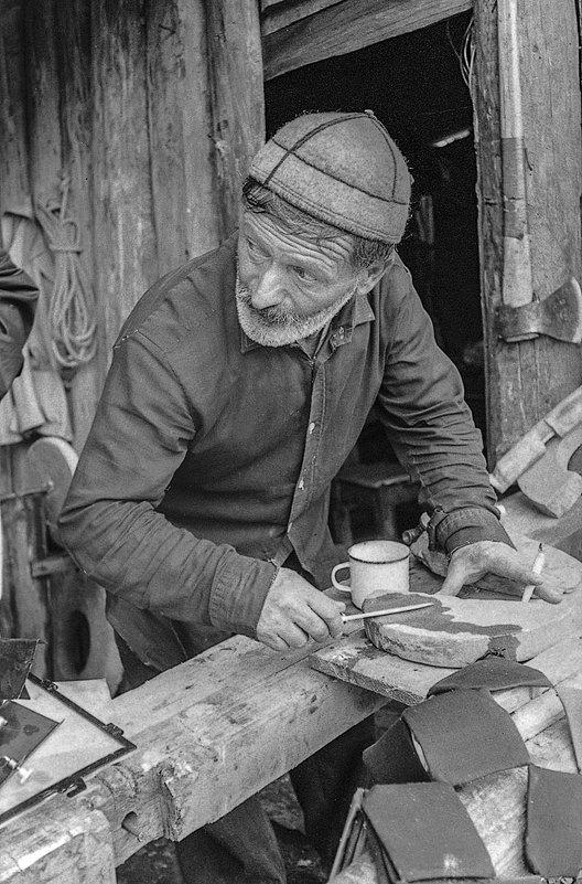 Волная Сванети. Кузнец Ягор Калдани из Цхумари. - Игорь Олегович Кравченко