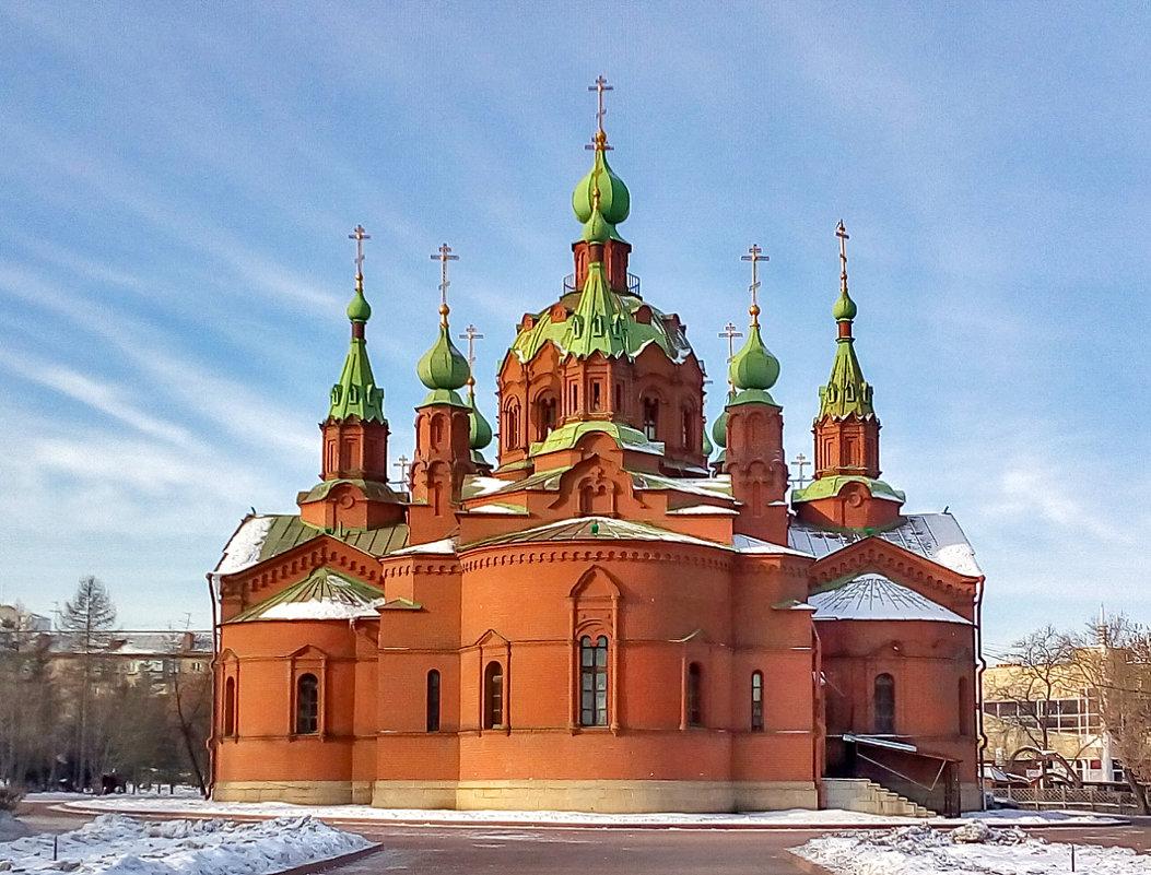 Храм Александра Невского - Марина Шанаурова (Дедова)