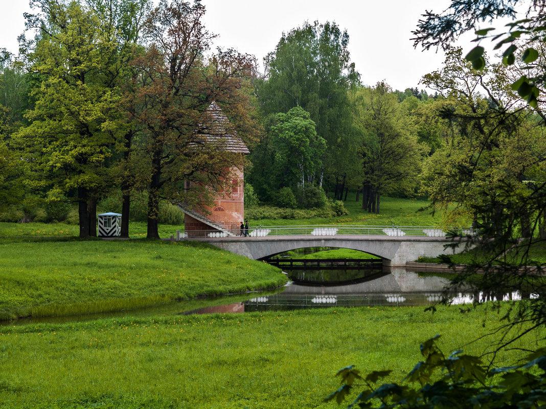 Пиль-башня, Павловский парк, г.Павловск, Санкт-Петербург - Елена Кириллова
