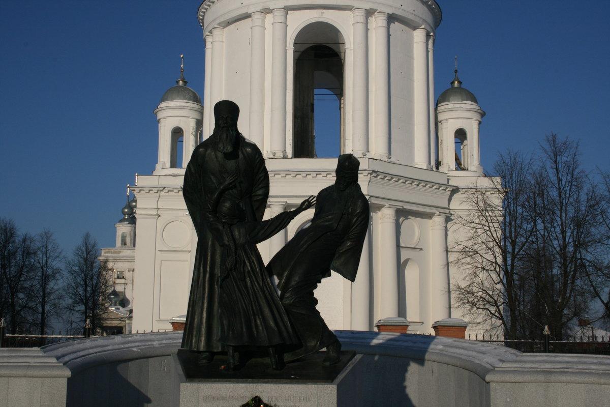 Шуя. Памятник погибшим за веру - Димончик