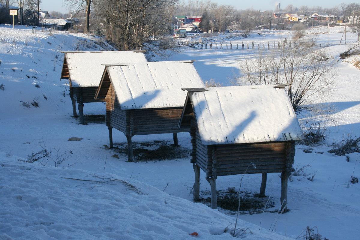 сельские постройки - Димончик