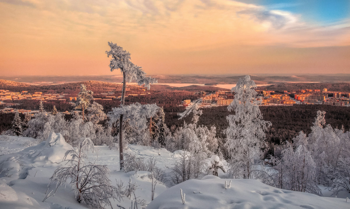 Вечерняя панорама - vladimir Bormotov