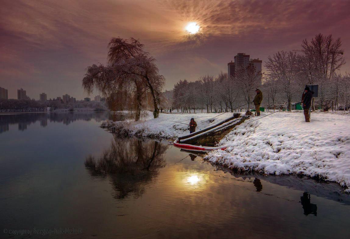 Рыбаки ловили рыбку, А... - Sergey-Nik-Melnik Fotosfera-Minsk