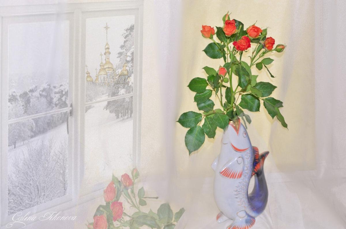 """""""Розы невинно погибшим людям"""" - galina tihonova"""