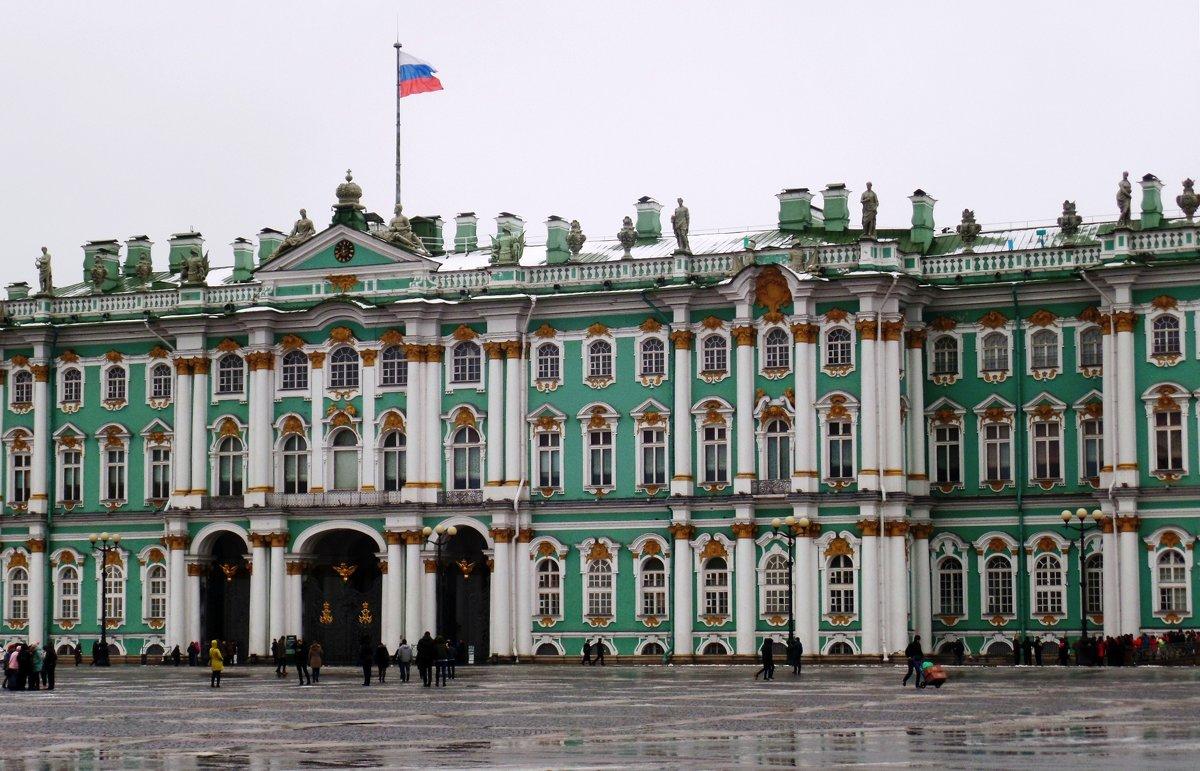 Фрагмент Зимнего Дворца. - Марина Харченкова