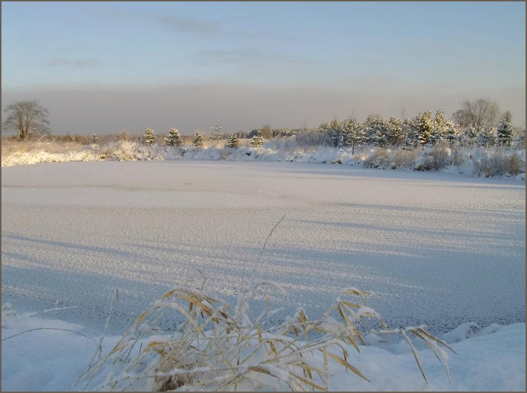 Замерзший пруд - lady v.ekaterina