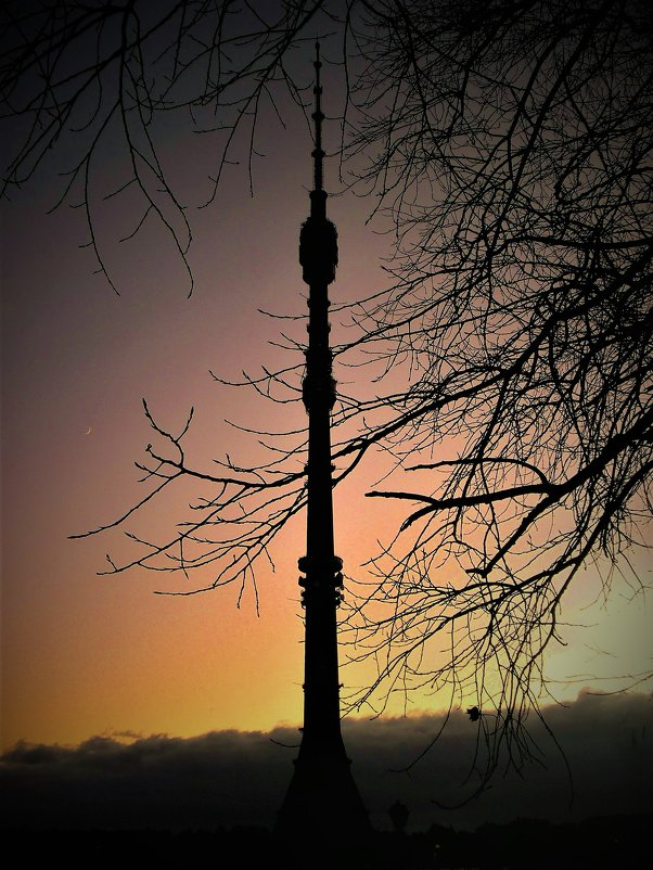 Закат в Останкино - Ирина Via
