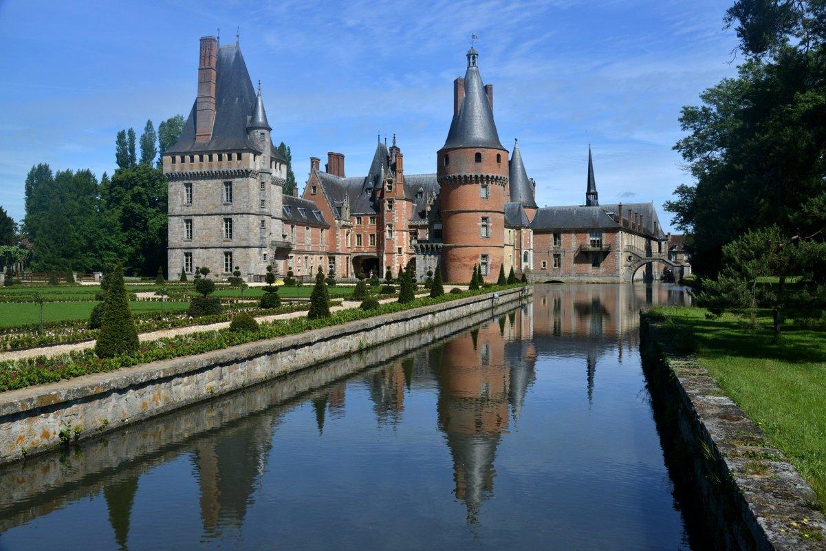 замок мадама де Ментенон (1) (chateau de Madame de Maintenon) - Георгий