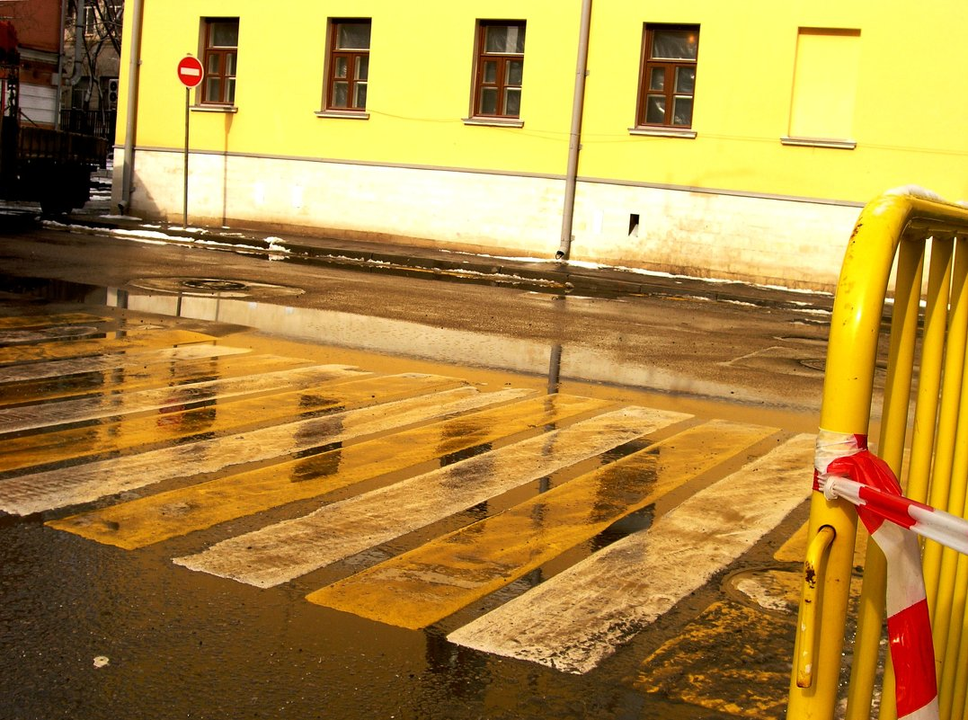Желтое и немного красного - Tanja Gerster