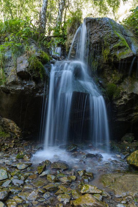 Горный Алтай. Водопад Чечкиш - Александр Янкин