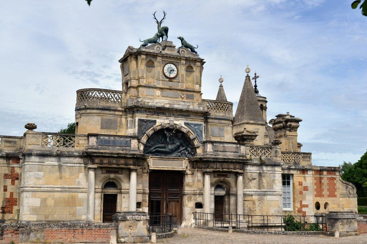 Вход к замку Анет (Дианы де Пуатье) chateau de Diane de Poitiers - Георгий