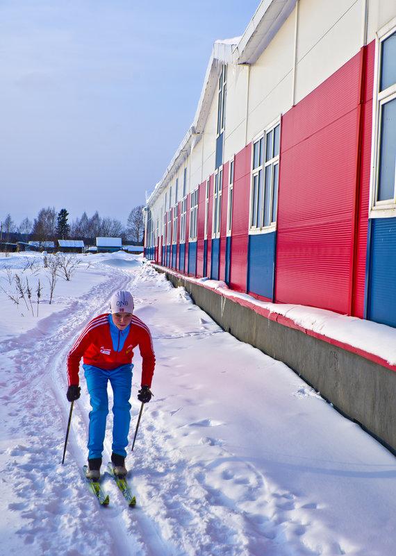Молочное.На лыжне - Валерий Талашов