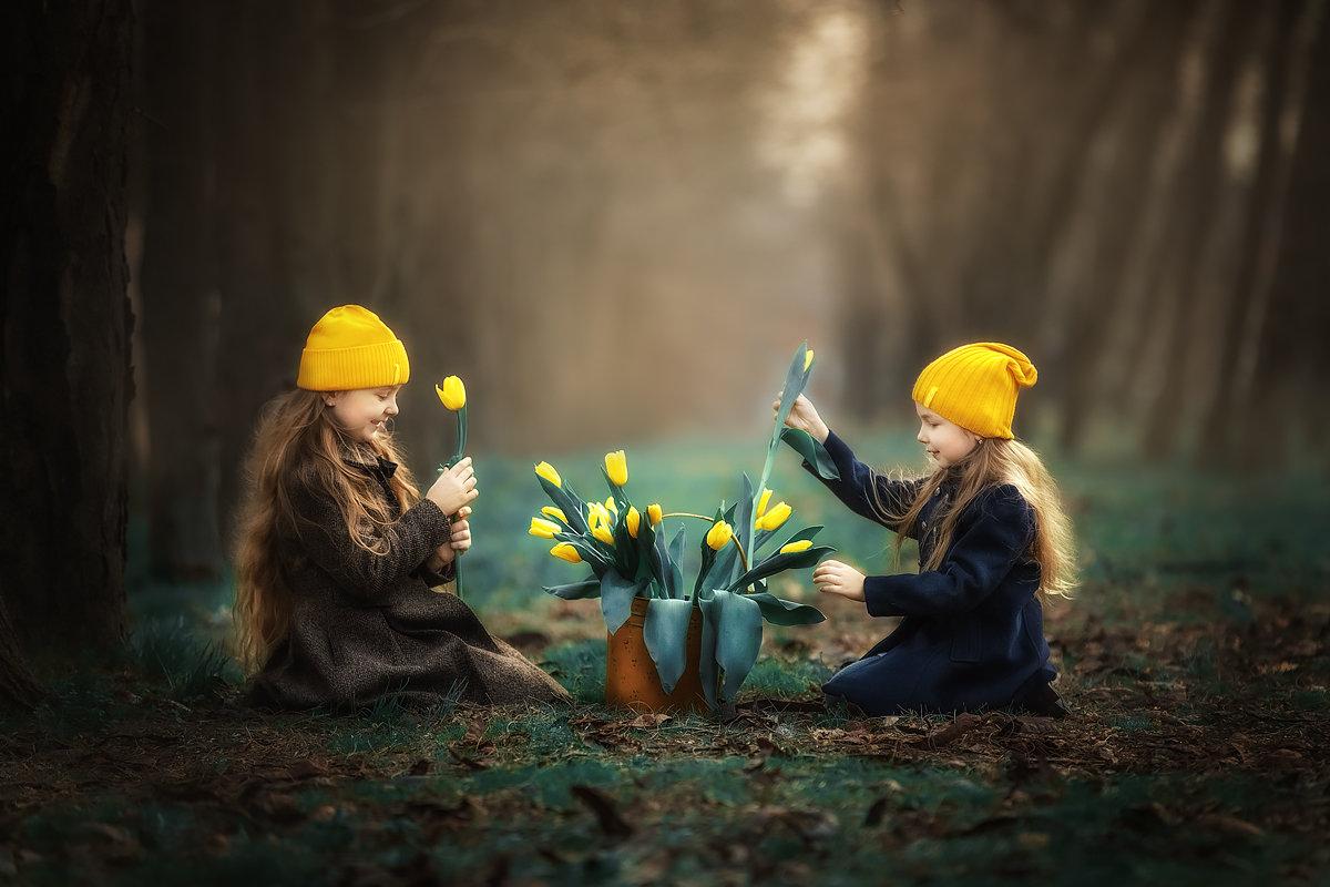 Жёлтые тюльпаны - Татьяна Бурыкина