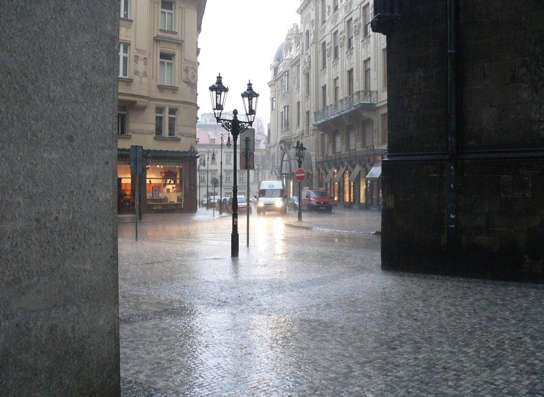 Дождь в Праге. - Андрей Дурапов