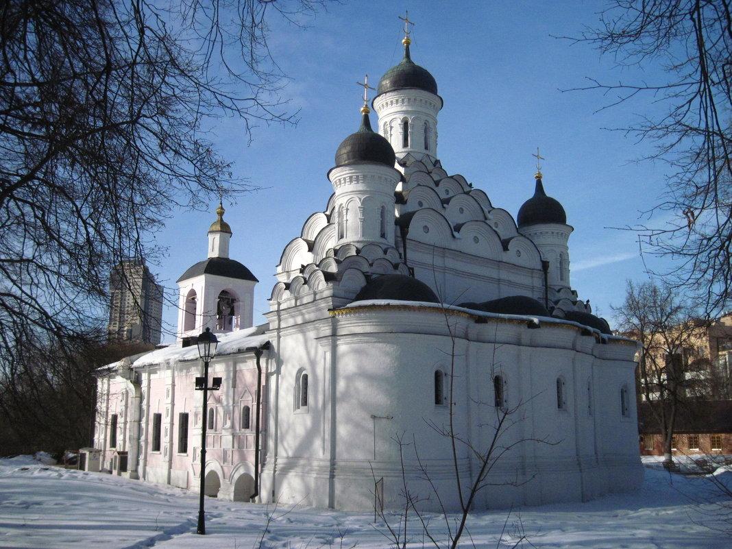 Храм Живоначальной Троицы в Хорошёво-Мнёвниках - alek48s