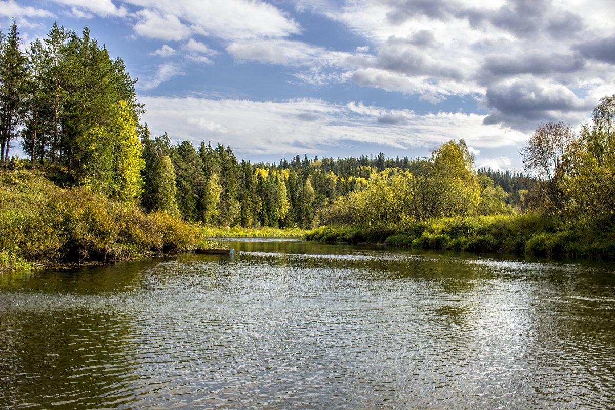 Река Сылва - алексей чусовской