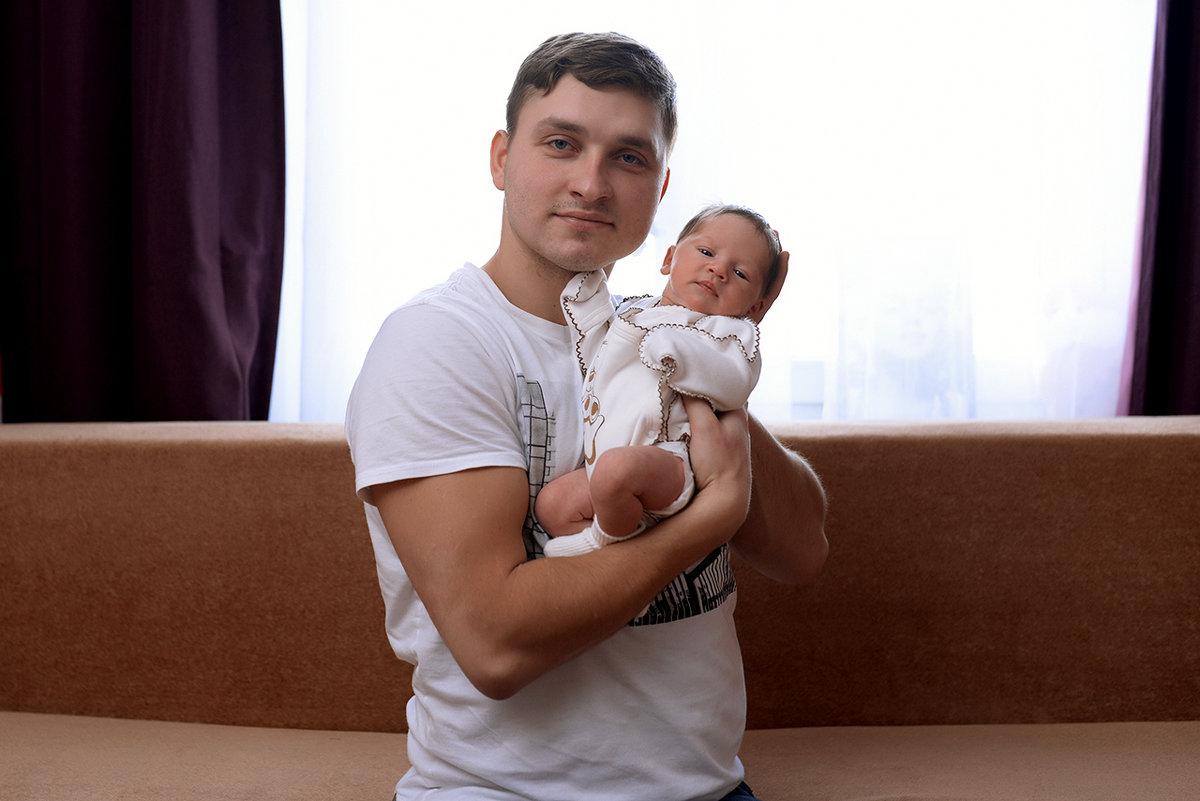 Фотосессия новорожденного дома в Москве. - Таня Турмалин
