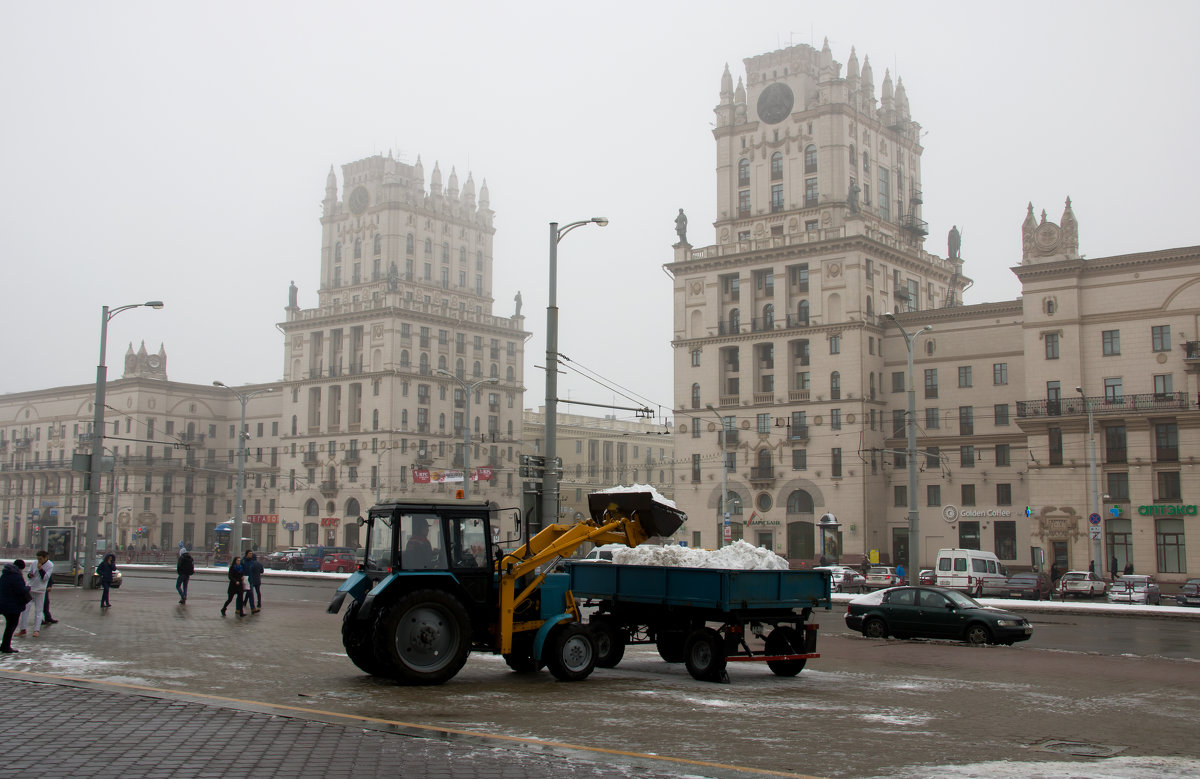 Уборка снега - Вера Аксёнова