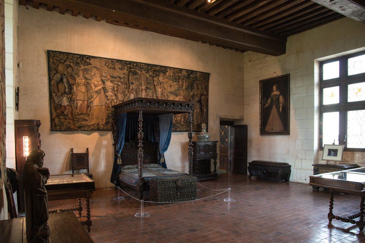 спалнья в замке Шомон/Лура (Chaumont/Loire) - Георгий