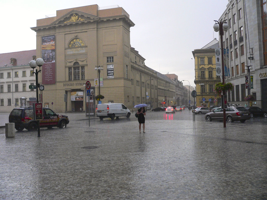 На Прагу падает дождь... - Андрей Дурапов
