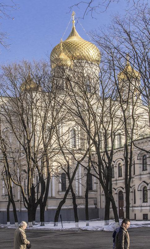 Воскресенский Новодевичий монастырь. Вербное Воскресенье. - bajguz igor