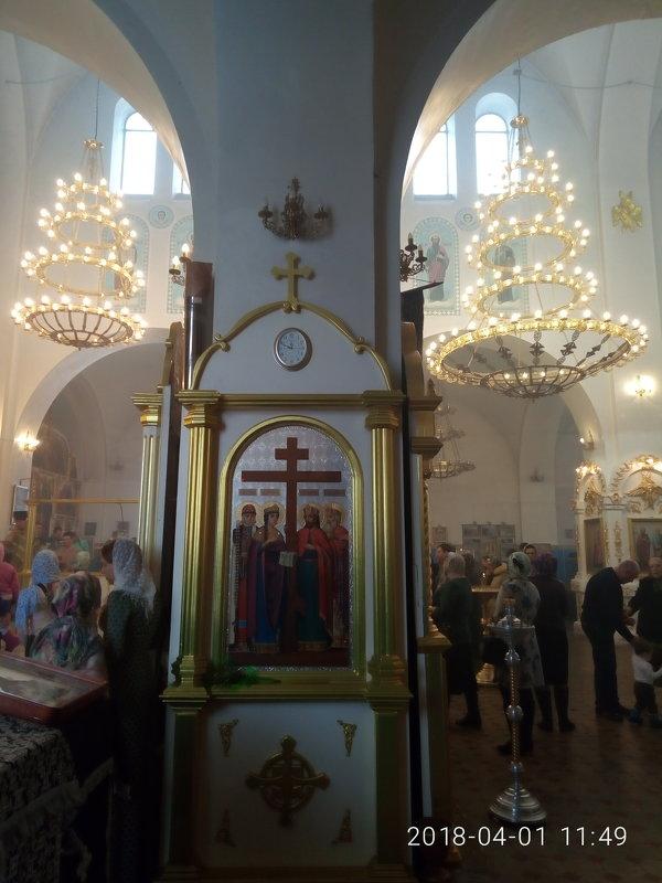 Праздник в храме Михаила Архангела - марина ковшова