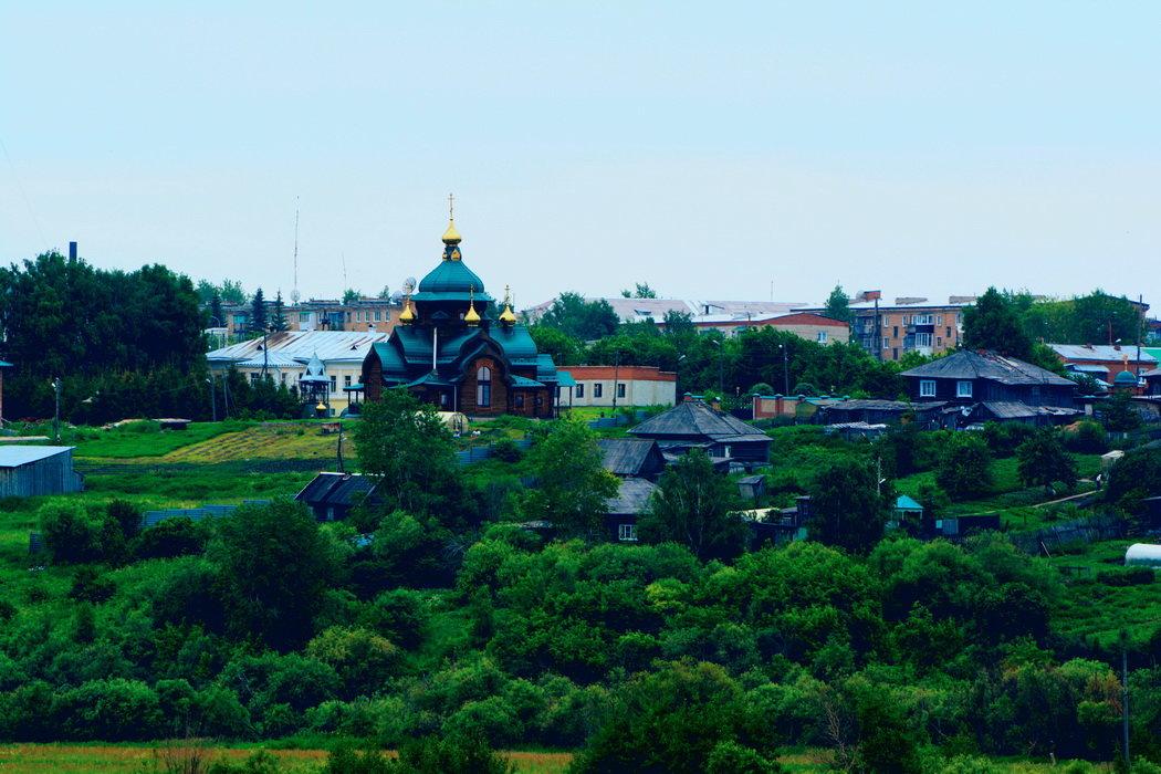 вид на Николаевский женский монастырь г. Туринск - Александр