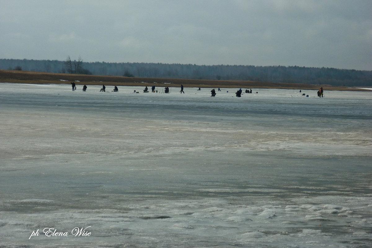 Зимняя рыбалка - Elena Wise