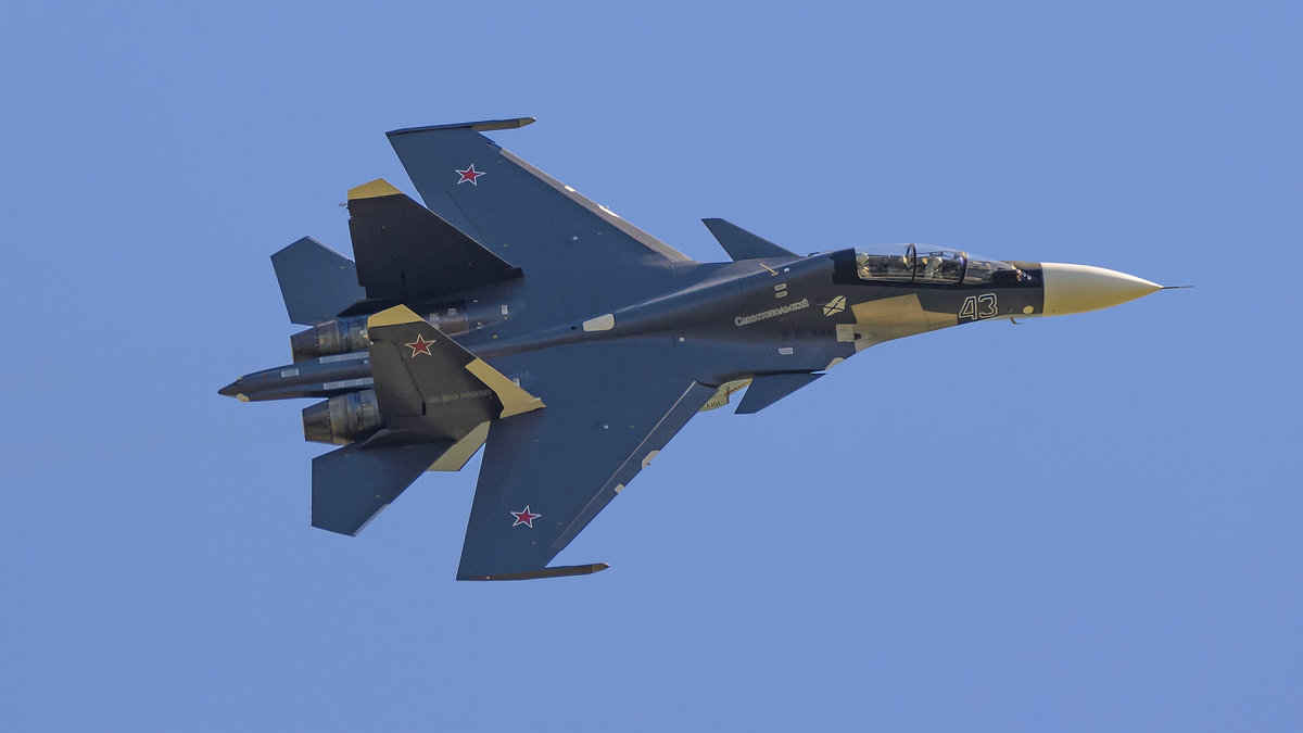 СУ-30СМ - Владимир Кириченко  wlad113