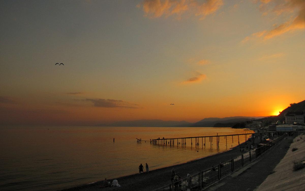 Вечер у моря. - barsuk lesnoi