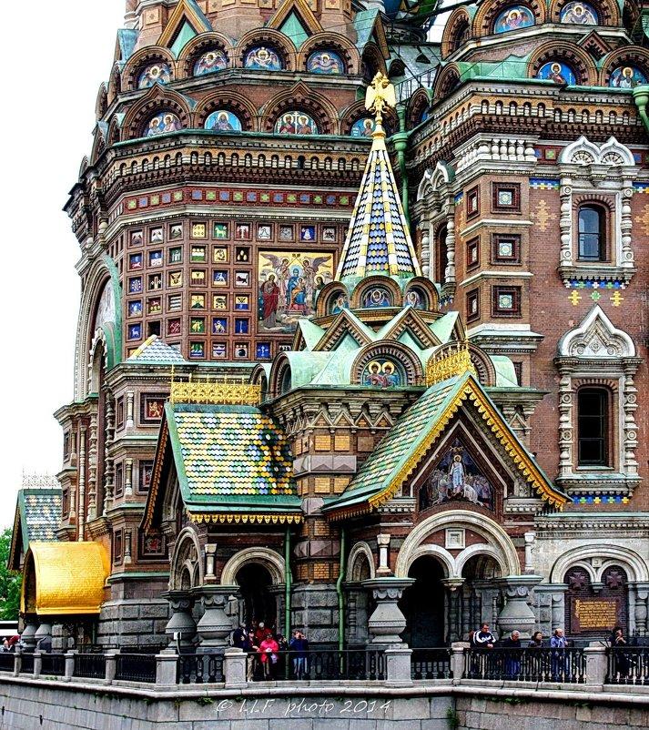 Санкт-Петербург, Храм Спаса-на-Крови. - Liudmila LLF