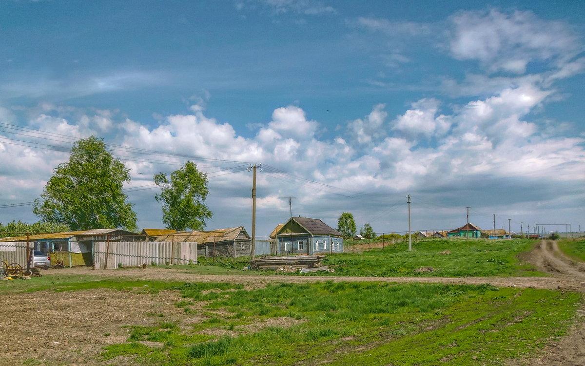 Весна в деревне. Перед дождем. - Наталья Ильина