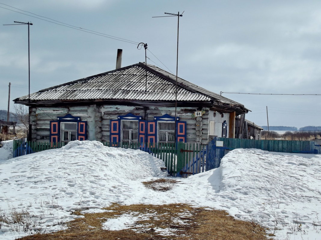 Деревенский дом - Светлана Рябова-Шатунова